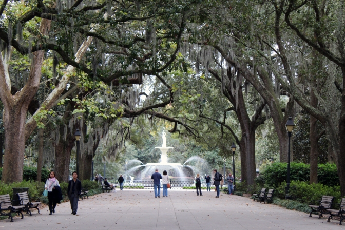 4 Days Walking Around Savannah
